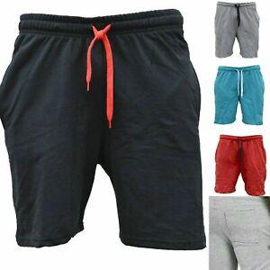 Shorts Kurzhose Sporthose Kurze Bermudas Sport Unifarben Herren BASIC Cargo NEU