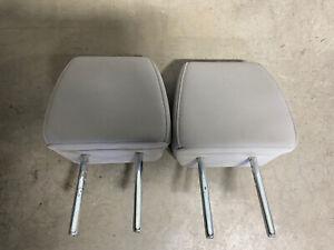 2018-2020 Honda Odyssey Headrest 2nd Row Rear Set Grey Gray Leather