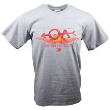 BOY SCOUTS NOAC OA ORDER OF THE ARROW SHIRT CENTURIES SERVICE FLAMING ADULT L