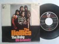 """The Hollies / The Baby / Oh Grannie 7"""" Single Vinyl mit Schutzhülle"""