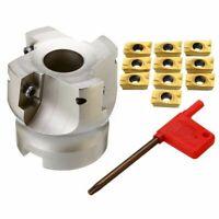 BAP400R-50-22 4 Flute Face End Milling Cutter + 10pcs APMT1604 miiling Inserts