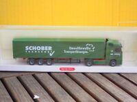 WIKING 5381141 Koffer-Sattelzug MB Actros Facelift Schober TOP, wie neu in OVP