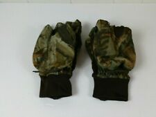 Adventure Timber Men's Size XL Brown Camo Thinsulate Insulation Gloves Mittens