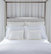 Sferra Giza 45 sateen 4-piece White King sheet set