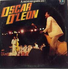 Oscar D'leon A Mi Si Me Gusta Asi TH 2167 Lp Vinyl