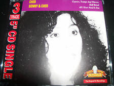 Cher Sonny & Cher Gypsies Tramps & Thieves / Half Breed / All I Ever CD Single