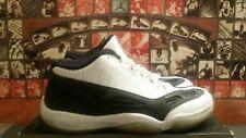 6644a77dff10d8 2011 Nike Air Jordan 11 XI Retro Low White Black 306008-100 Size 10.5