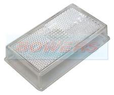 RUBBOLITE WHITE CLEAR FRONT MARKER LAMP LIGHT LENS IFOR WILLIAMS TRAILER P067851