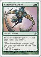 BLANCHWOOD ARMOR Eighth Edition MTG Green Enchantment — Aura Unc