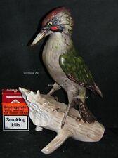 Goebel Porzellan Figur Bochmann Vogel Bird Grünspecht green woodpecker 38-010