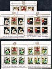 Penrhyn 1982 B/day Princess of Wales SHEETS SG 250/4 MNH