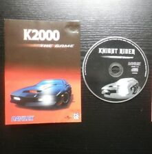 JEU PC CD-ROM : K2000 The Game (Knight Rider, sans notice, envoi suivi)