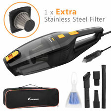 Foxnovo 120W Handheld Powerful Car Vacuum Cleaner Wet Dry Auto Home Cleaning UK