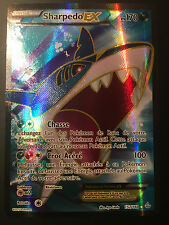 Carte Pokemon SHARPEDO 152/160 Holo EX FULL ART XY5 Française NEUF