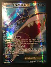 Carte Pokemon SHARPEDO 152/160 Holo EX FULL ART XY5 Française NEUF
