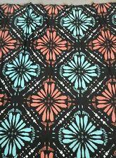 """Retro Floral Estampado Jersey Viscosa Tejido Elástico material textil de 60"""" de ancho"""