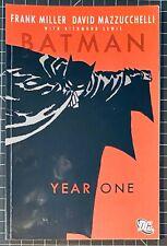 Batman Year One, Graphic Novel, Frank Miller, FN / NM, 2007 DC
