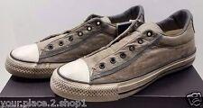 Converse X John Varvatos Slip Ox Drill Nickel Turtle Vintage Brown Shoe 153901C