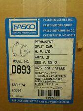 Fasco blower motor Model #D893  ( New)