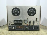 Akai 4000DS 4-Track 2-Channel Stereo Reel to Reel Tape Recorder For Parts/Repair