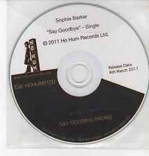 (DD279) Sophie Barker, Say Goodbye - 2011 DJ CD