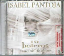 ISABEL PANTOJA 10 BOLEROS Y UNA CANCION DE AMOR CD 2007