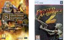 SILENT STORM COMPLETE&JAGGED ALLIANCE 2 GOLD Inc Unfinished Business new&sealed