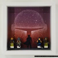 Display Case Frame for Lego Star Wars Mandalorian 75254 Minifigures