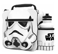 Kids Children Insulated 3D Lunch Bag Box And Drink Sport Water Bottle Starwars