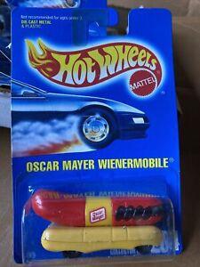 Hot Wheels 1:64 Die Cast 1991 Oscar Mayer Weinermobile #204