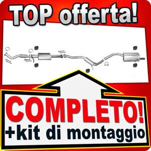 Scarico Completo per ALFA ROMEO GT 2.0 JTS & 156 2.0 JTS 2002-2010 Marmitta