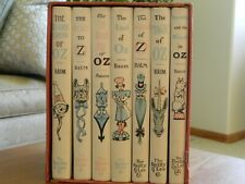 Wizard of OZ By L. Frank Baum 7 Volume Book Set Reily & Lee Co. Hard Cover