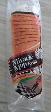 Vintage Miracle Mop Refill replacement head As seen on TV wrings out Ingenious