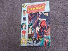Official Justice League of America Index #3 (1986) * Eclipse * DC Comics *