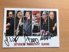Spider Murphy Gang Autogrammkarte orig. signiert +2146
