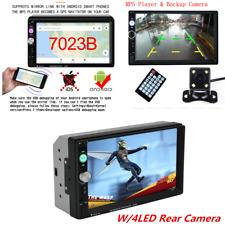 "7"" 2DIN Car Stereo Radio Bluetooth Touch Screen MP5 Player FM/USB +Rear Camera"