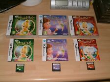 TINKERBELL + LOST TREASURE + GREAT FAIRY RESCUE .... DS / 2DS / 3DS / XL GAMES