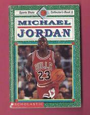 MICHAEL JORDAN 1991 Scholastic 44 page Collectors Picture Paper Book Ex Cond #1