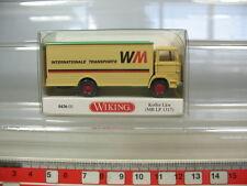 n16-0,5 # Wiking,H0,0436 01 ,MERCEDES MB LP 1317 ,Camión,WM,NUEVO + emb.orig