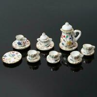 25Pcs 1:12 Dollhouse Miniature Dish DIY Tableware Mini Kitchen Food Plates LA
