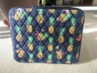 "Vera Bradley Tablet/iPad Sleeve Toucan Party Print 10"" x 8"" New With Tag"