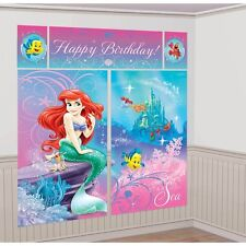 Disney Princess Ariel The Little Mermaid Birthday Party Giant Wall Scene Setter