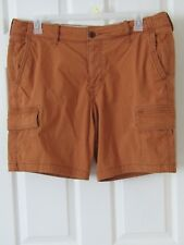 Hollister Men's Cargo Shorts Size 38 Brown