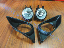 A Set front bumper Driving fog Lights With cover for TOYOTA COROLLA 2007-2009