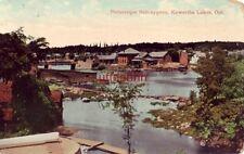 PICTURESQUE BOBCAYGEON, KAWARTHA LAKE, ONTARIO CANADA 1910