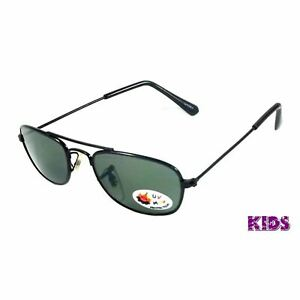 NWT Kids Retro Sunglasses Children Milo Aviator Boys Girls Age 1-2 Square