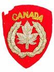 Canadian Korean War CANADA Bullion Insignia Japanese Made