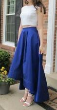 AIDAN MATTOX NORDSTROM SEQUIN TAFFETA 2-PIECE PROM DRESS BLUE 4 *MINT* $295