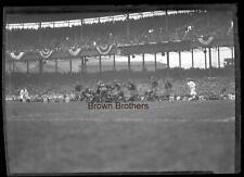 Vintage 1926 New York Yankees Football Red Grange Yankee Stadium Negative #8