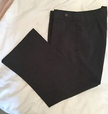 """Atmosphere Grey Formal Trousers with Decorative Waistband - size 16 approx 36"""" W"""
